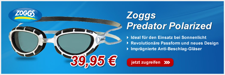 Zoggs Predator Polarized Schwimmbrille
