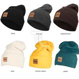 Urban Classics Leatherpatch Long Beanie TB626 Wintermütze