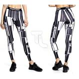 Urban Classics Damen Graphic Sports Leggins TB1664