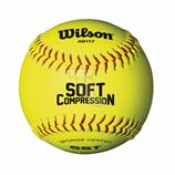 Wilson Soft Compression Baseball Ultra Grip WTA9117T gelb