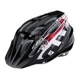 Alpina FB Jr. 2.0 Radhelm Kinder A9678 black white-red (50-55cm)