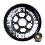 K2 Speed Wheel 90mm Inline-Rollen 30B3011 8-Pack