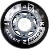 K2 Active Wheel 4-Pack 72mm Inline-Rollen 30B3000