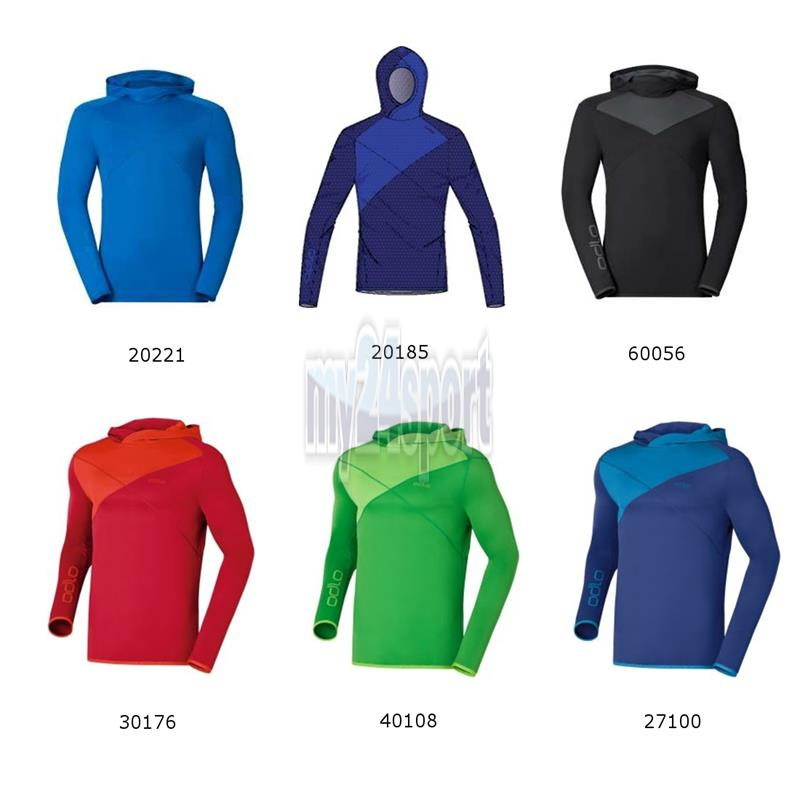 Odlo Hoody midlayer midlayer midlayer Cima Tosa Men 221662 NEU 31412e