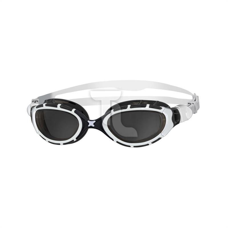 Zoggs Flex black white Schwimmbrille 319848/334848Edition 334848