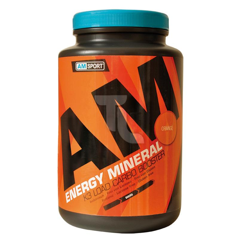 17,62€/1kg AMSport Energy Mineral Isotonic orange 1700g Dose 4260213070030
