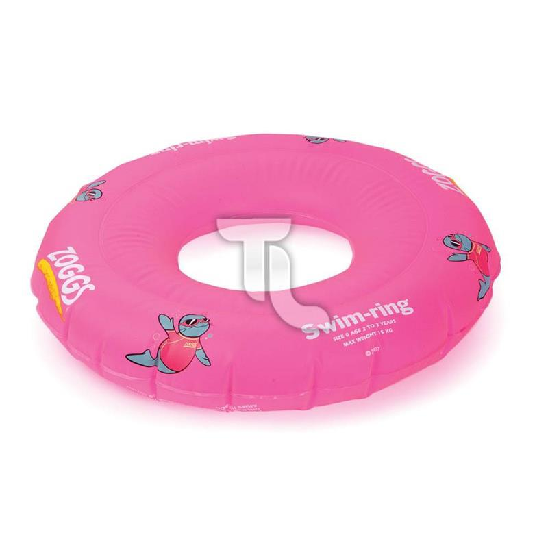 Pic_A:Zoggs Zoggy Swim-ring (2-3 Jahre) pink Schwimmring
