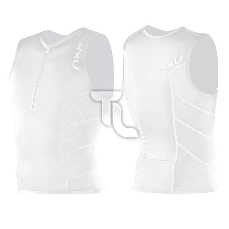 Pic_E:2xu Mens Comp Tri Singlet Top MT1838a