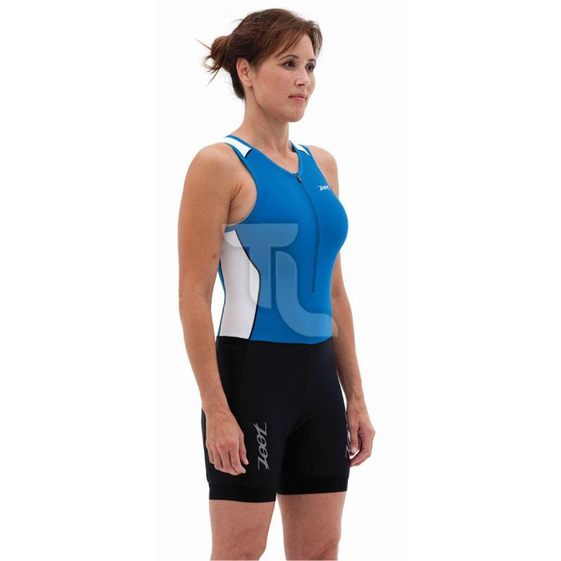 Zoot Team Tri Race Suit Damen blau/azure-weiß 2603067/2611365