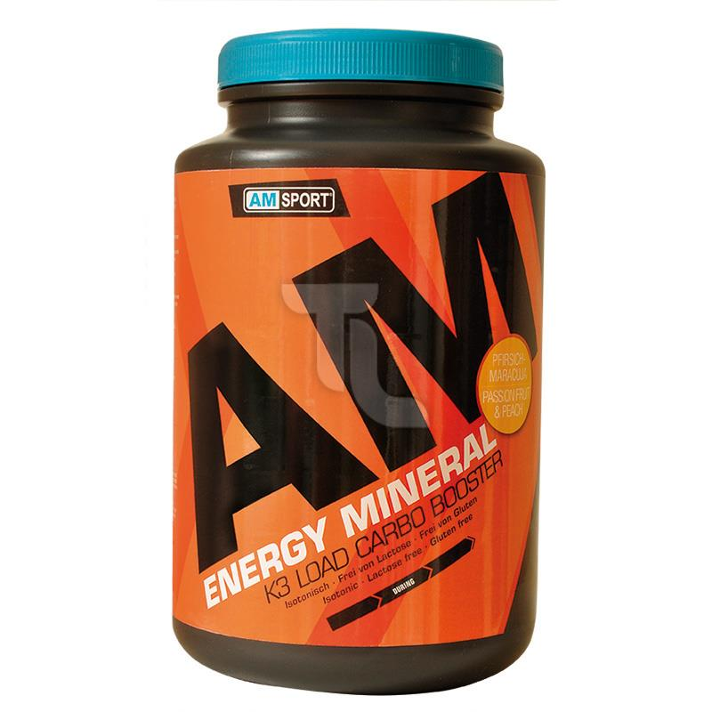 Pic_A:17,62€/1kg AMSport Energy Mineral 1700g Pfirsich-Maracuja