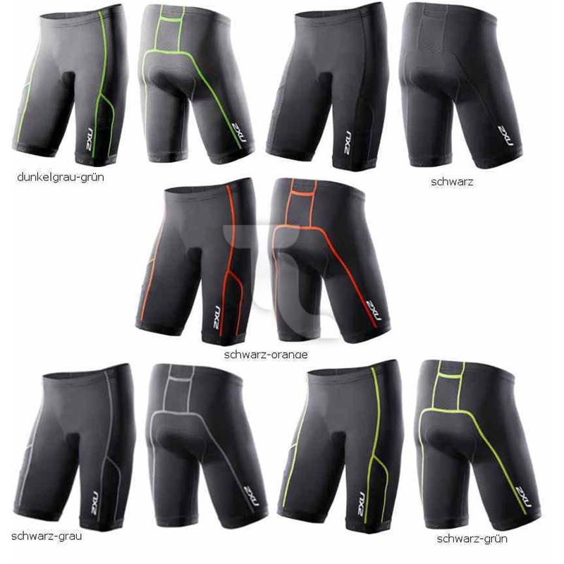 2xu Mens Comp Tri Short  9  MT2264