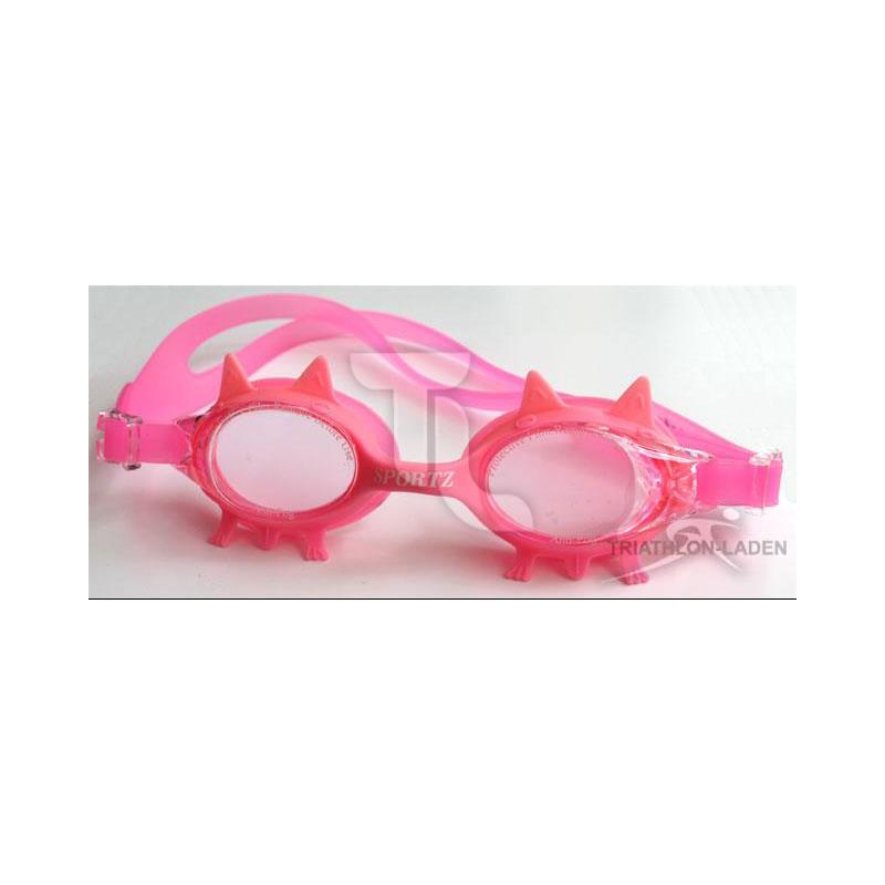 Pic_A:Yingfa Kinderschwimmbrille Zacken pink