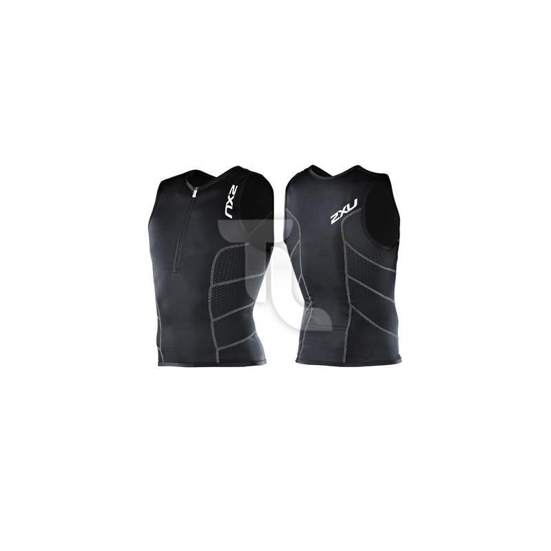 Pic_A:2xu Mens Comp Tri Singlet Top MT1621