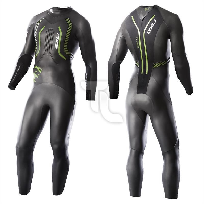 Pic_A:2xu A1 Active Wetsuit MW2304c  WW2357c