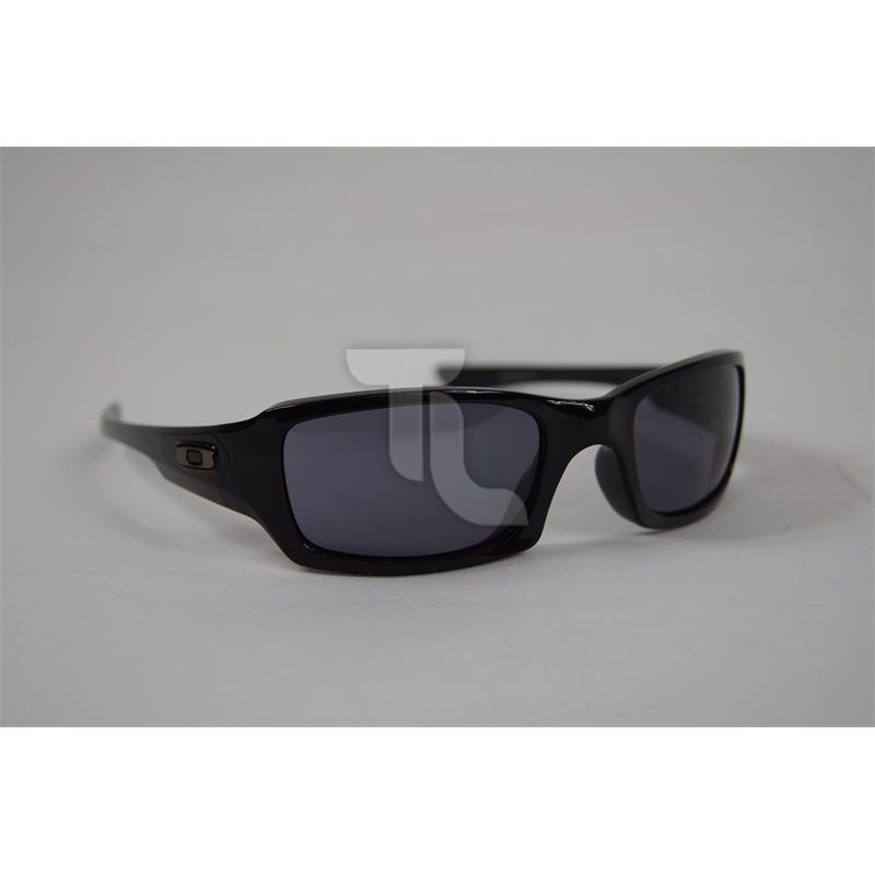 Pic_A:Oakley 03-440 Fives Polished Black w/ Grey