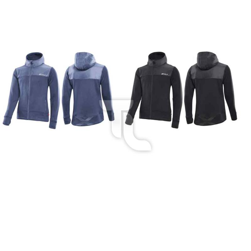 Pic_A:2xu Active Fleece Cruizer Jacke Herren MR2476