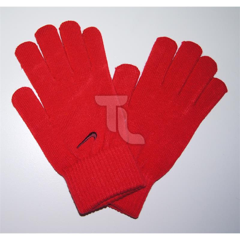 Pic_A:Nike Handschuhe Basic Knitted Gloves rot Damen