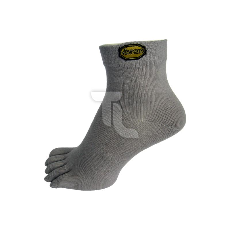 Pic_A:Vibram Five Fingers Mid Light Grey Zehensocken