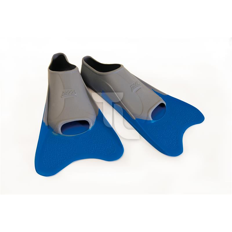 Pic_A:Zoggs Ultra Blue Fins Flossen
