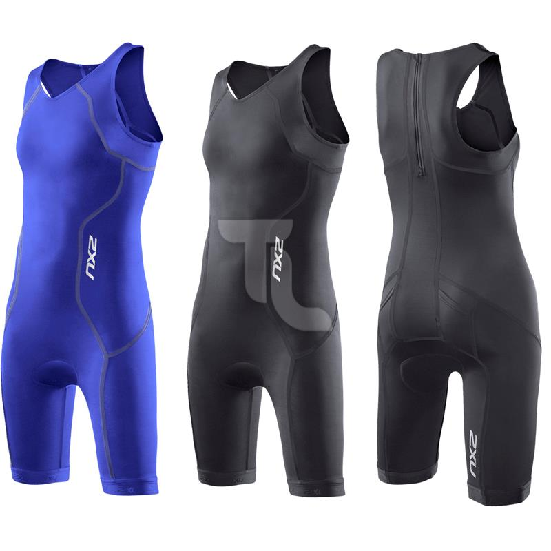 Pic_A:2xu Triathloneinteiler Youth Trisuit Girls CT2722 Kinder