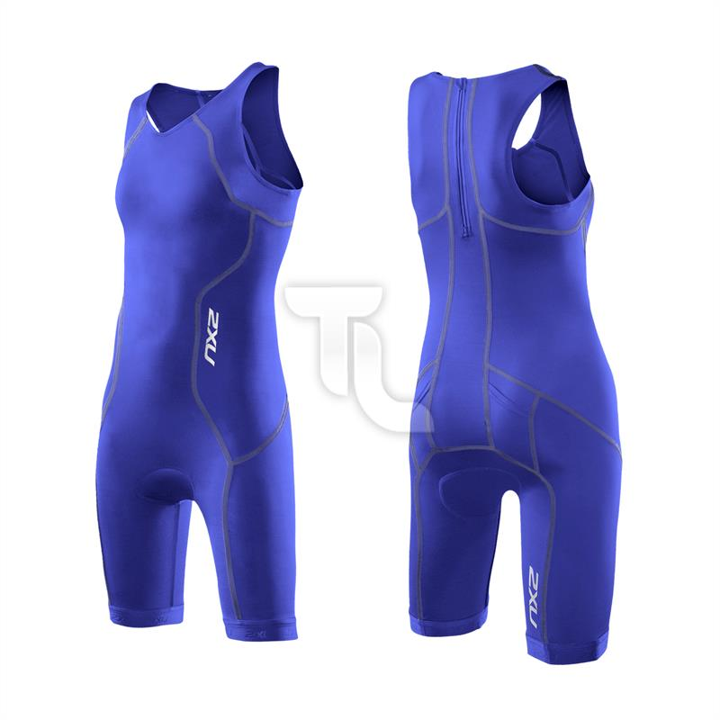 Pic_B:2xu Triathloneinteiler Youth Trisuit Girls CT2722 Kinder