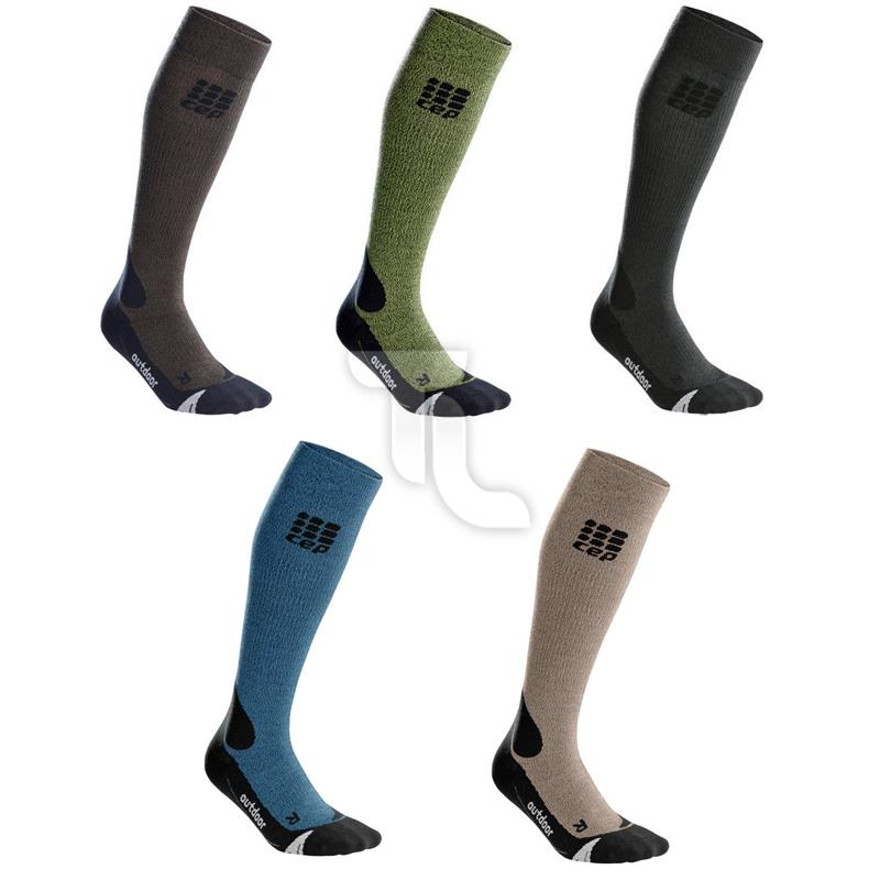 Pic_A:CEP Progressive Outdoor Merino Socken (Kompression)