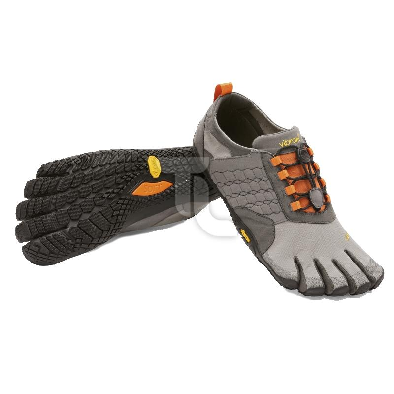 Pic_A:Vibram Five Fingers - Trek Ascent 15M-4702 Grey/Black/Orange Herren