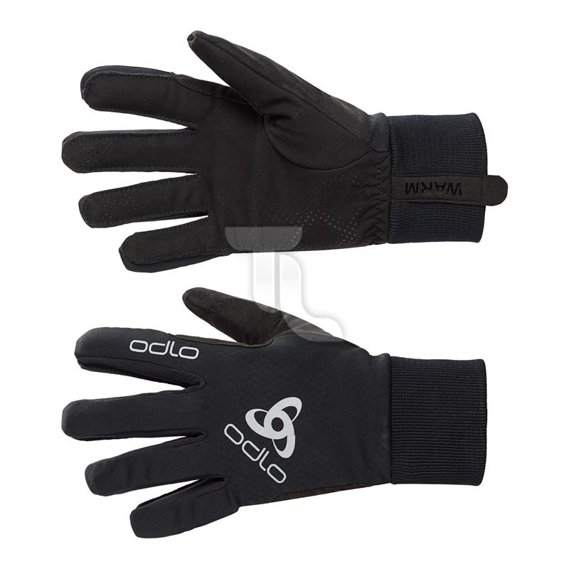 Pic_A:Odlo Gloves windstopper classic warm XC schwarz 792720 792720