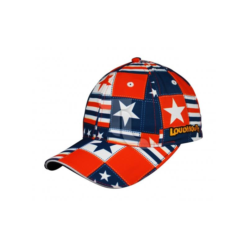 Pic_A:Headsweats HAT Loudmouth 1702-401s Betsy Ross HSLPH_BR