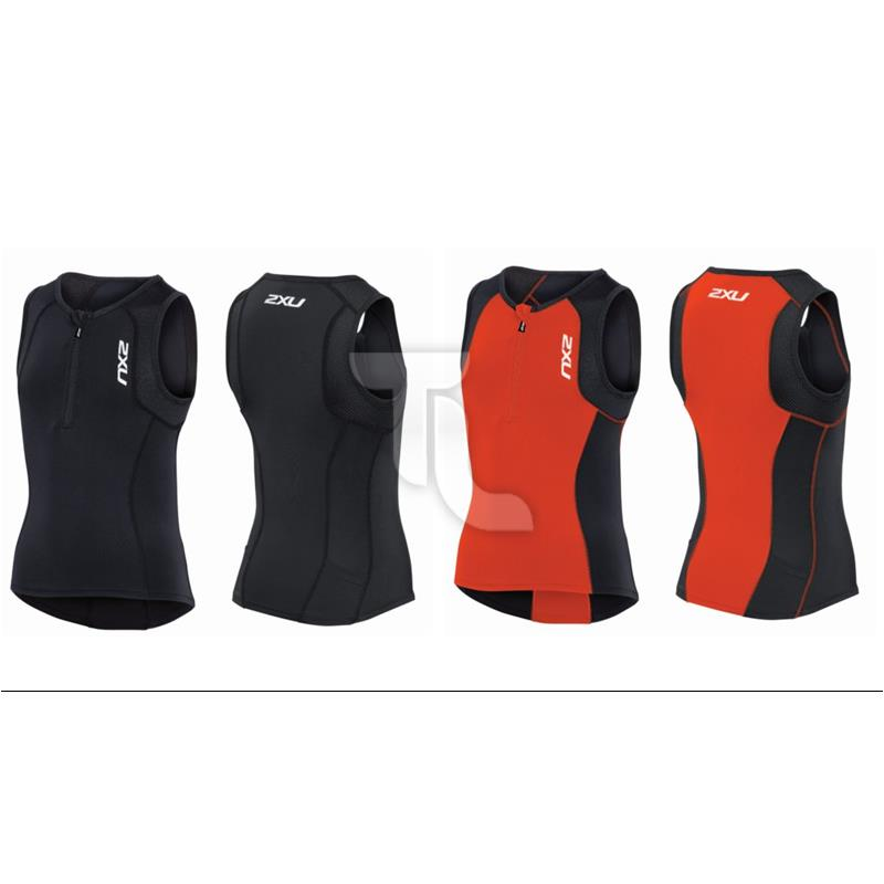 Pic_A:2xu Active Youth Tri Singlet CT3644 Kinder CT3644