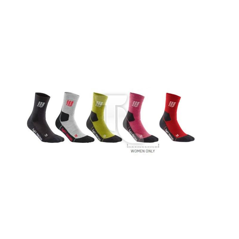 CEP Outdoor Light Merino Mid-Cut Socken (Kompression)