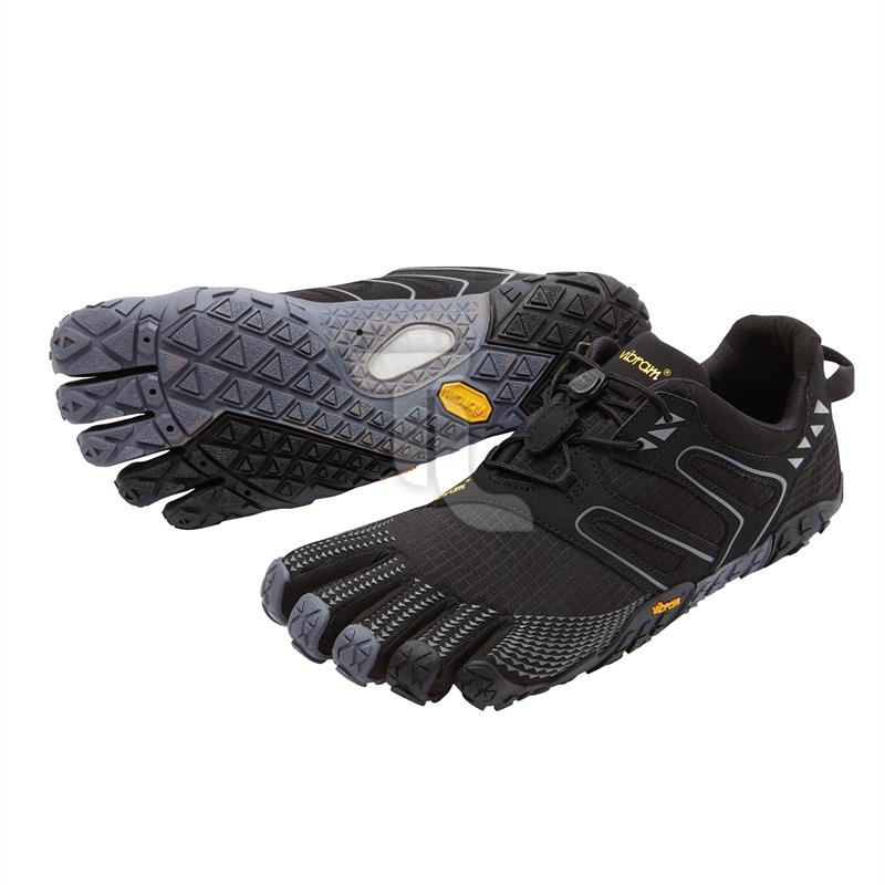 Pic_A:Vibram Five Fingers - V-Trail 17M-6901 Black/Grey Herren