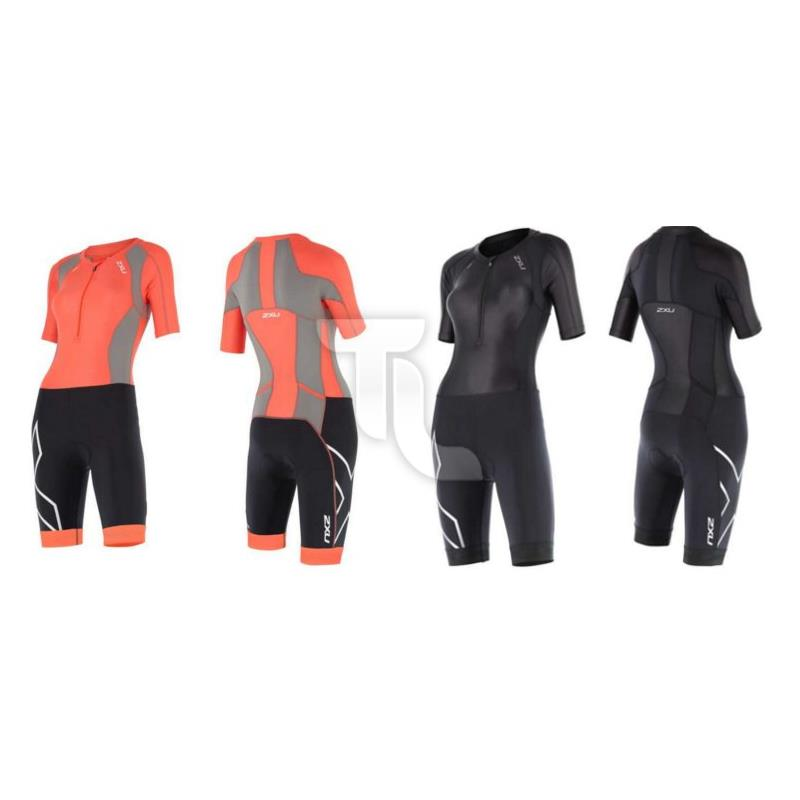 Pic_A:2XU Compression Sleeved Einteiler WT4445d Damen WT4445d