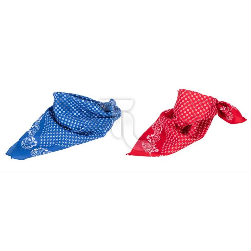 Pic_A:Myrtle Beach Traditional Bandana - Trachtentuch 50x50cm MB6400