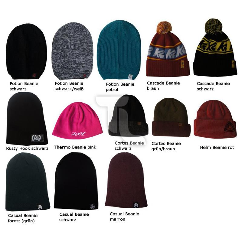 Pic_A:K2 Beanie (Potion, Cascade, Cortes, Helm, ThermoCasual)