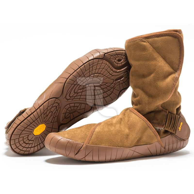 Pic_A:Vibram Five Fingers - Furoshiki Classic Shearling17UCF-04/Camel/Brown 17UCF-04