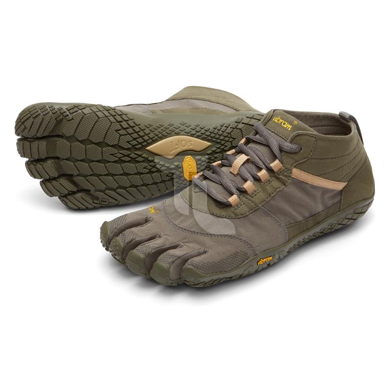 Pic_A:Vibram Five Fingers V-Trek 18M-7402/Military/Darkgrey Herren