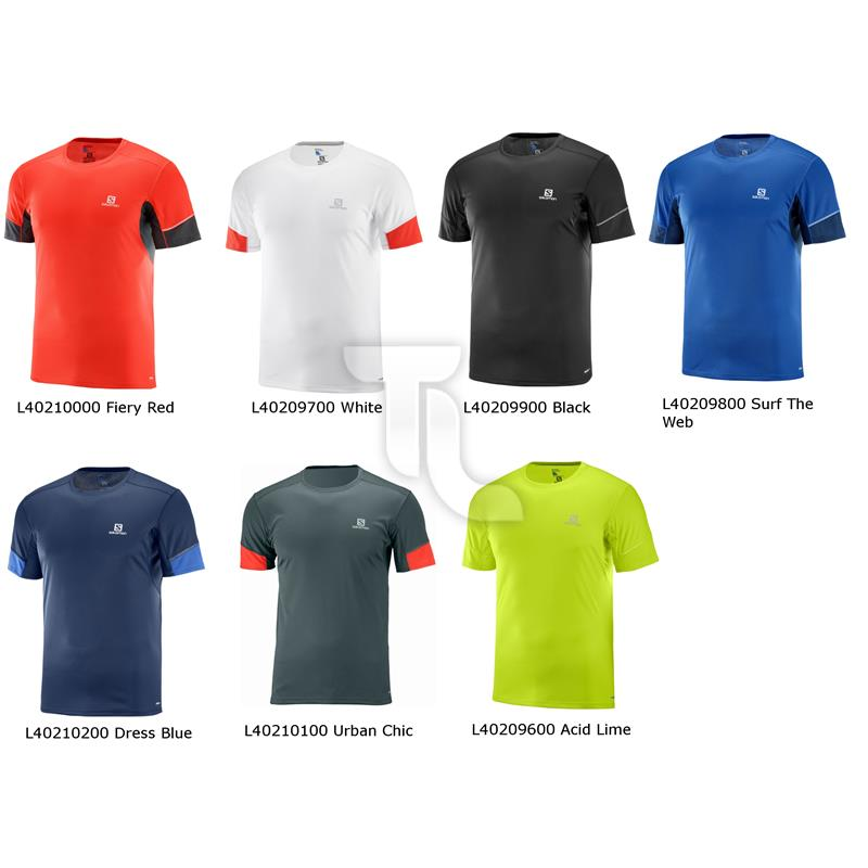 Salomon T-Shirt AGILE Short Sleeve SS Tee Herren