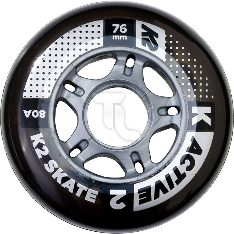 Pic_A:K2 Active Wheel 4-Pack 76mm 4 Inline-Räder 30B3001 30B3001