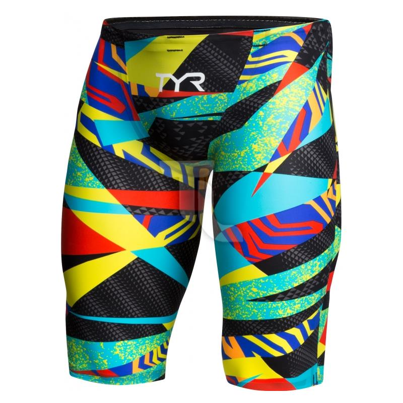 Pic_A:Tyr Schwimmhose Jammer Prelude Avictor Short APM6A004 Blk/ Multi APM6A004