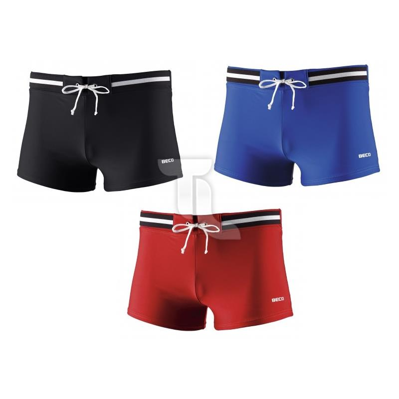 Pic_A:Beco Badehose Square Leg Short Herren 8010
