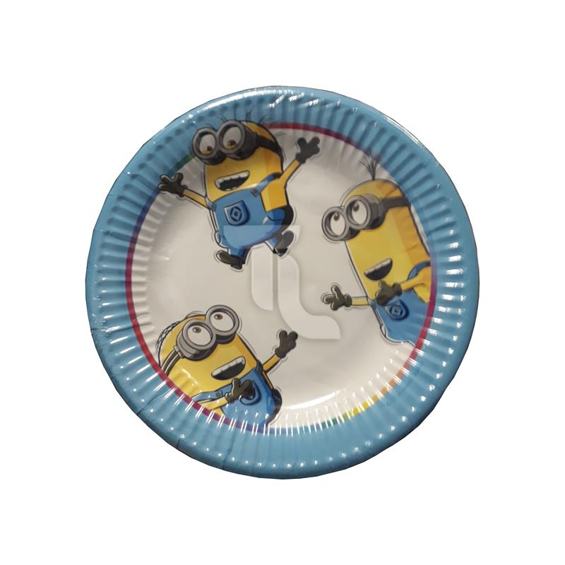 Pic_A:15x Minions Pappteller