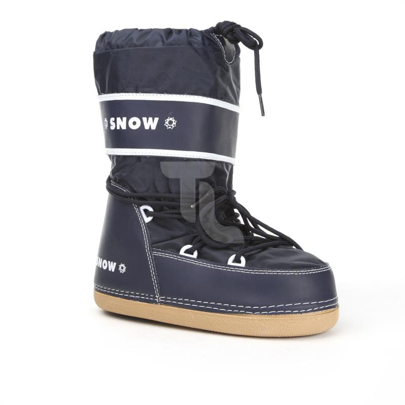 Pic_A:Winterschuhe Stiefel Kinder Boots navy