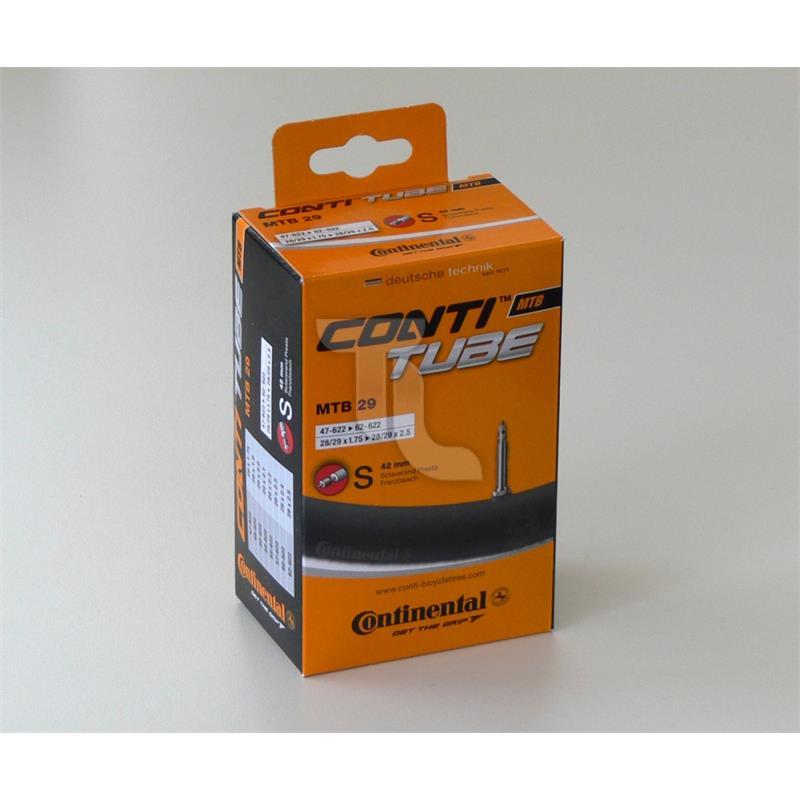 Pic_A:Continental Fahrradschlauch MTB 29 SV42 (28/29 x 1.75 - 2.50) 0182181