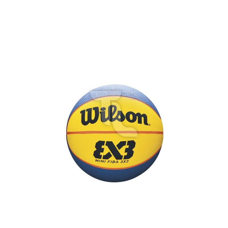 Pic_A:Wilson MVP Mini Rubber Basketball WTB1763 orange/bau