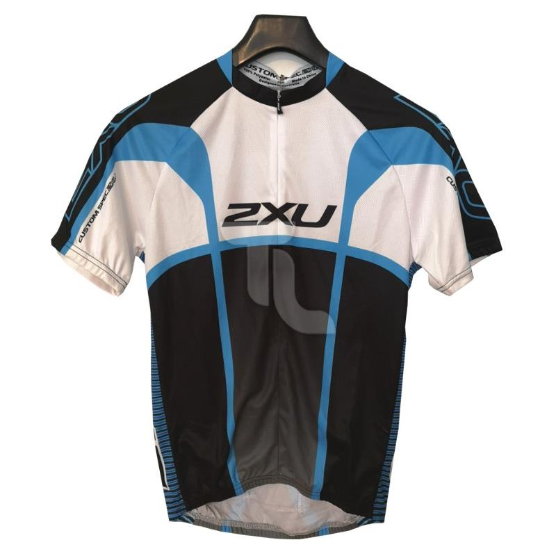 2xu Custom Race Cycle Jersey MX1313 Herren blau/schwarz/weiß