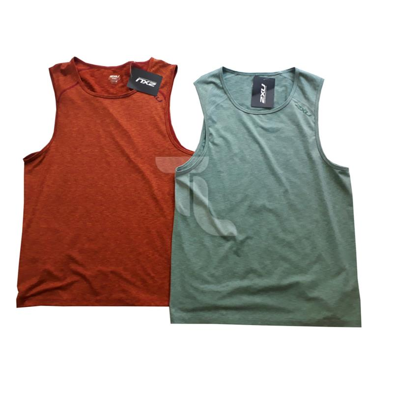 Pic_A:2xu Movement Singlet MR3444 Herren Laufshirt