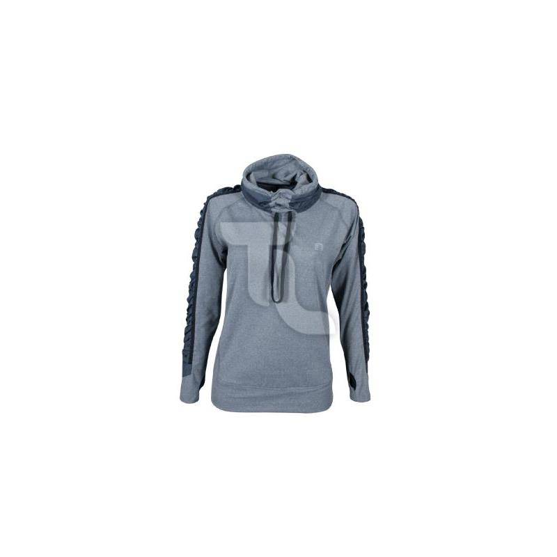 Pic_A:Newline Imotion Heather LS Jersey Damen grau 10142-088