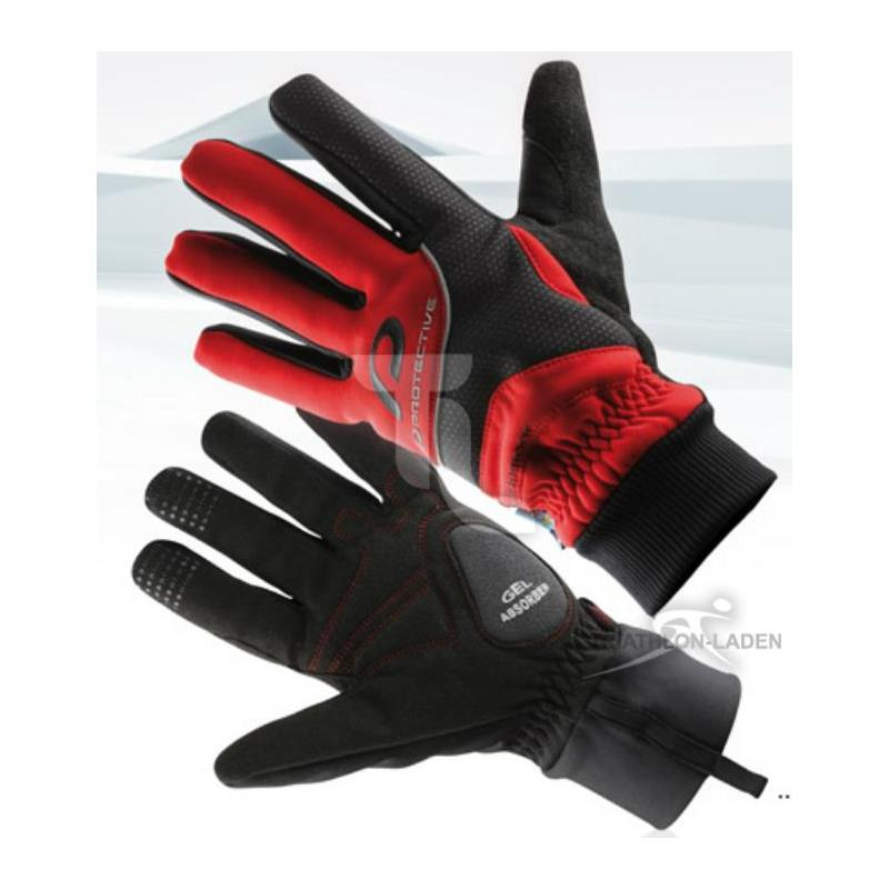 Pic_A:Protective Waterproof Glove Handschuhe rot